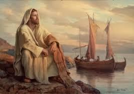 Znalezione obrazy dla zapytania zostawiwszy ich, wsiadł z powrotem do łodzi i odpłynął na drugą stronę (Mk 8, 11-13).