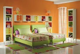modern twin bed. Ideas On Designing Your Little Twin Boys\u0027 Bedroom : Modern Kids Decoration With Bed