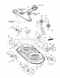 craftsman 54 inch mower deck parts diagram beautiful simplicity parts list and diagram ereplacementparts