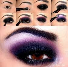 purple smokey eye makeup 25 easy and dramatic smokey eye tutorials this season