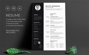 Resume Templates Word Free Modern 40 Best 2018s Creative Resume Cv Templates Printable Doc