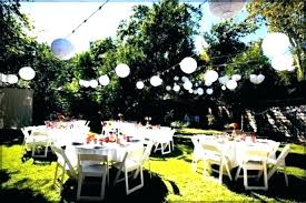 backyard party supply backyard party decorations images large size of food ideas on a budget outdoor
