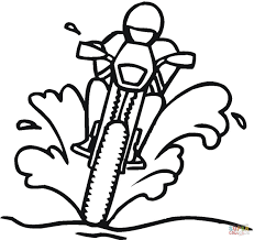 Small Picture Racing On The Dirty Road coloring page Free Printable Coloring Pages