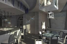 Дипломная работа Александровой Елены проект интерьера кафе Дипломная работа Елены Александровой Дизайн проект интерьера кафе Лапландия