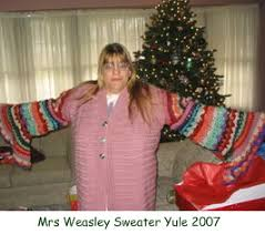 Mrs Weasley Sweater Christmas Gift « Witch-Crafted « Blissful Moon