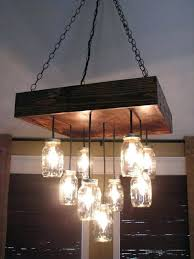 diy wood chandelier pallet and mason jars chandelier diy outdoor wood chandelier