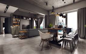 industrial style living room furniture. Astonishing Industrial Style Dining Room Design The Essential Guide A Interior Decorating Picture Bathroom Accessories View Living Furniture U