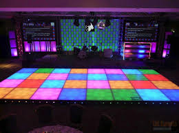 70 s style night fever led dance floor hire
