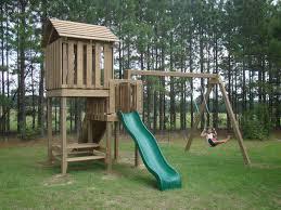 Wooden Kids Outdoor Playsets
