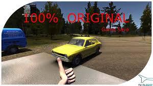 my summer car 100 original satsuma game save