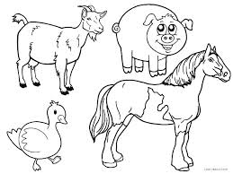Coloring Pages Farm Farm Coloring Page S Farm Animals Coloring Pages