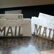 counter mail organizer kitchen counter organization galvanized mail organizer kitchen counter organization countertop mail organizer