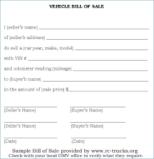 Simple Vehicle Bill Of Sale Template 15 As Is Vehicle Bill Of Sale Template Proposal Agenda