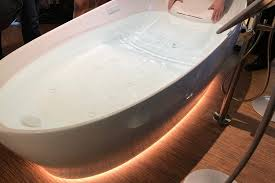 The Toto Flotation Tub makes your bathroom feel like the space station