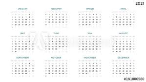 This page lists all weeks in 2021. Calendar Infographic Table Chart Presentation Chart Business Period Concept Task Manager Week Month 2021 Year Time Management Organizer Date Diary First Day Sunday Stock Vector Adobe Stock