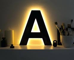 letter lighting. Letter That Light Up Ideas Of A Great Led Lamps Lights . Lighting