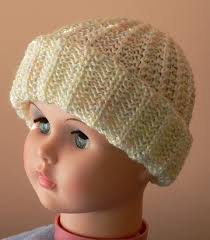 Child Knit Hat Pattern Impressive Head Huggers Knit Pattern Child's Stretchy Knit Cap