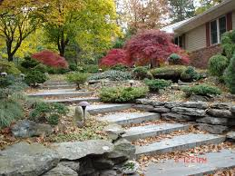 ... Fetching Rock Landscaping For Garden And House Backyard Decoration :  Fascinating House Backyard Design And Garden ...