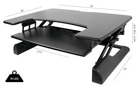 Amazing Table Top Standing Desk Within FitDesk Tabletop Moving Minds ...