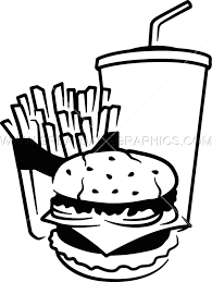 fast food clipart black and white. Simple White Vector Transparent Library Production Ready Artwork For T Shirt Printing  Image Freeuse Download Fast Food Clipart Black And White Throughout Food Clipart Black And White L