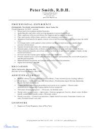 Dental Hygiene Resume Samples Resume Online Builder