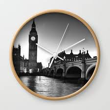 westminster london wall clock by