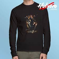 New Endgame Marvel Black Widow Long Sleeve T Shirt