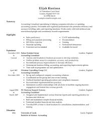 simple finance resume examples livecareer consultant resume example