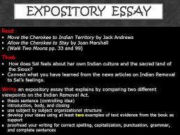 expository essay  move the cherokee to n territory by  expository essay  move the cherokee to n territory by jack andrews  allow the