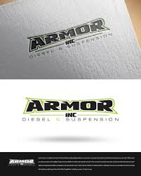 Diesel Graphic Design Logo Design For Armor Inc Diesel Suspension By