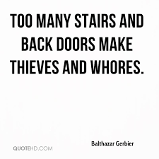 Stairs Quotes Delectable Balthazar Gerbier Quotes QuoteHD