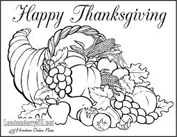 Printable Thanksgiving Coloring Pages Lezincnyccom
