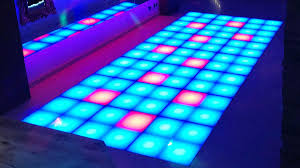 Led Dance Floor Network Lighting