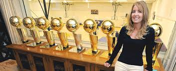 Image result for jerry buss and trophies