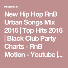 Charts Hits 2016 New Hip Hop Rnb Urban Songs Mix 2016 Top Hits 2016 Black
