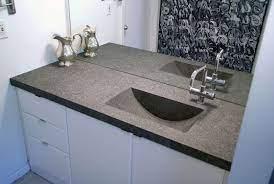 concrete countertops bathroom concrete