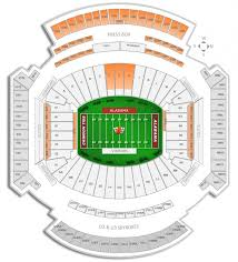 Alabama Football Seating Chart Luxury Alabama Football