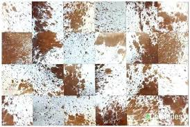 patchwork cowhide rug patchwork brown and white speckled cowhide rug patchwork cowhide rug 8x10 patchwork cowhide rug
