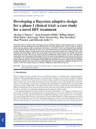 Adaptive Design Clinical Trial Pdf Developing A Bayesian Adaptive Design For A Phase I