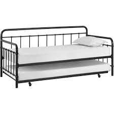 metal daybed.  Metal Elegant Better Homes And Gardens Kelsey Daybed With Trundle Multiple  Finishes  Walmartcom On Metal