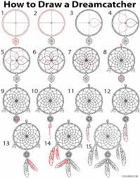 Dream Catcher Patterns Meanings Awesome 32 Collection Of Dream Catcher Easy Drawing High Quality Free