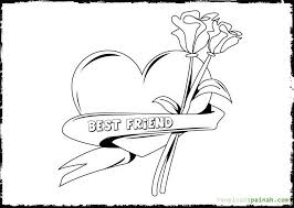 Small Picture Best Friend Coloring Pages Best Friend Coloring Pages Characters