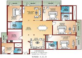 House Floor Plans 3d 25 More 3 Bedroom 3D Floor Plans 3 Bedroom 4 Bedroom Townhouse Floor Plans