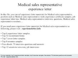 Sample Cover Letter For Sales Representative Job Cover Letter For