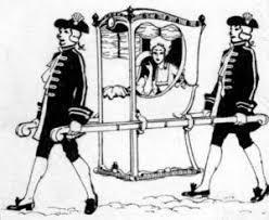 Image result for 19th century sedan chair