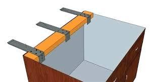 countertop support brackets g wood granite