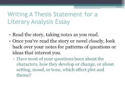 the literary analysis essay using the most dangerous game by  3 writing a thesis