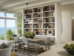 contemporary library furniture. View In Gallery Wall Of Books Also Helps Delineate Space Inside This Contemporary Home [Design: Robbins Architecture Library Furniture