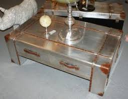 industrial metal furniture. Silver Industrial Aluminium Coffee Table Metal Furniture
