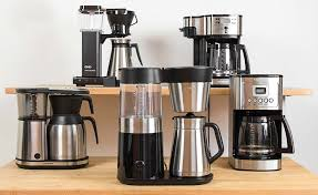 drip coffee makers group of 5 tested machines